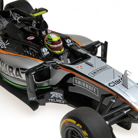 Force India VJM09 F1 2016 Sergio Perez Minichamps 117160011