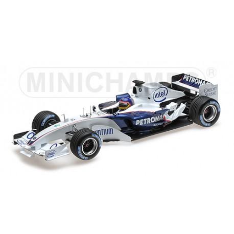 Sauber BMW C24B F1 Test Valencia 2006 Jacques Villeneuve Minichamps 100060903