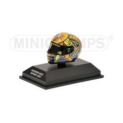 Casque 1/8 AGV Valentino Rossi Moto GP 2009 Minichamps 398090046