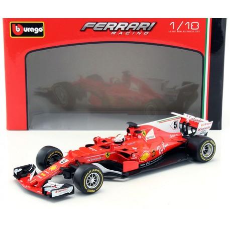 Ferrari SF70-H F1 2017 Sebastian Vettel Bburago 16805SV