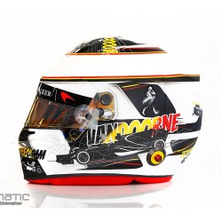 Casque 1/2 Stoffel Vandoorne F1 Spa Francorchamps 2017 Bell MH1052