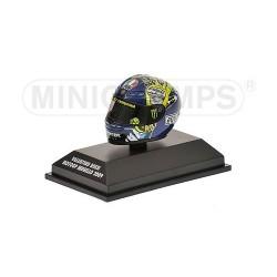 Casque 1/8 AGV Valentino Rossi Moto GP Mugello 2009 Minichamps 398090076
