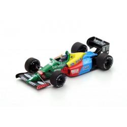 Benetton B188 19 F1 Angleterre 1988 Alessandro Nannini Spark S5201