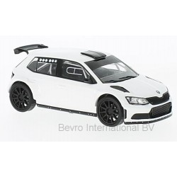 skoda fabia r5 blanche 2016 ixo mdcs020 miniatures minichamps. Black Bedroom Furniture Sets. Home Design Ideas