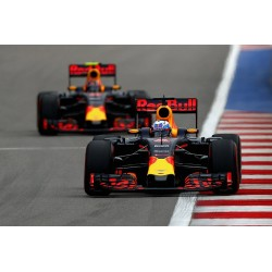 2 car set Red Bull Tag Heuer RB12 Ricciardo Verstappen Malaisie 2016 Minichamps 472163303
