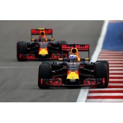 2 car set Red Bull Tag Heuer RB12 Ricciardo Verstappen Malaisie 2016 Minichamps 472163303