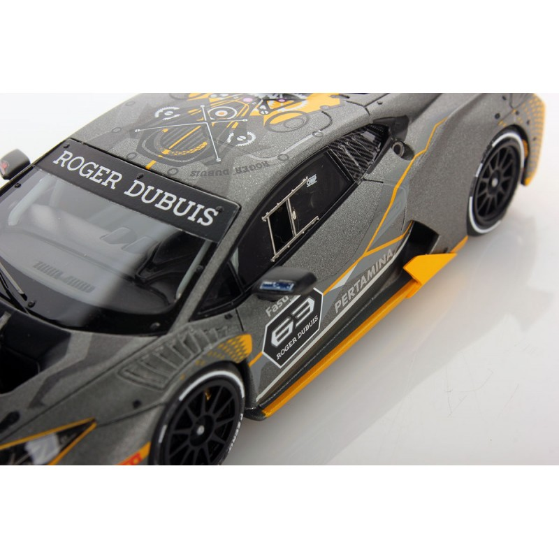 lamborghini huracan super trofeo evo looksmart ls483 miniatures minichamps. Black Bedroom Furniture Sets. Home Design Ideas