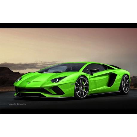 Lamborghini Aventador S Roadster Verde Mantis Looksmart Ls482d