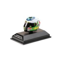 Casque 1/8 AGV Valentino Rossi Moto GP Mugello 2011 Minichamps 398110086