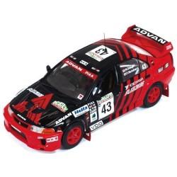Mitsubishi Lancer Evo V 43 WRC Nouvelle Zélande 1999 Nutahara Odagiri IXO RAM523