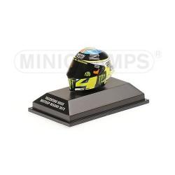 Casque 1/8 AGV Valentino Rossi Moto GP Misano 2013 Minichamps 398130056