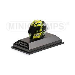Casque 1/8 AGV Valentino Rossi Moto GP Test Sepang 2013 Minichamps 398130076