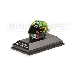 Casque 1/8 AGV Valentino Rossi Moto GP Mugello 2013 Minichamps 398130096