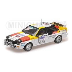 Audi Quattro 24 RAC Rally 1982 Minichamps 155821124