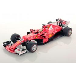 Ferrari SF70-H F1 Winner Monaco 2017 Sebastian Vettel Looksmart LS18F109