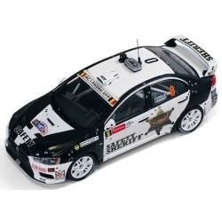 Mitsubishi Lancer Evo X 0 Rallye d'Ypres 2011 IXO RAM533