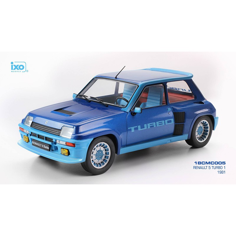Renault 5 Turbo: Renault 5 Turbo 1 Bleue 1981 IXO 18CMC005
