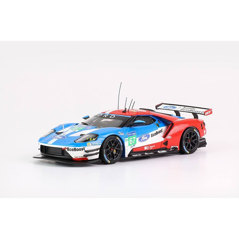 ford gt 67 24 heures du mans 2017 ixo lmm248 miniatures minichamps. Black Bedroom Furniture Sets. Home Design Ideas