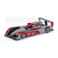 Audi R10 2 ALMS 12H de Sebring 2007 Minichamps 400071692