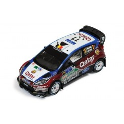 Ford Fiesta RS 11 WRC Mexique 2013 Neuville Gilsoul IXO RAM535