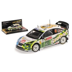 Ford Focus WRC 46 Wales Rally 2008 Rossi Cassina Minichamps 400088146