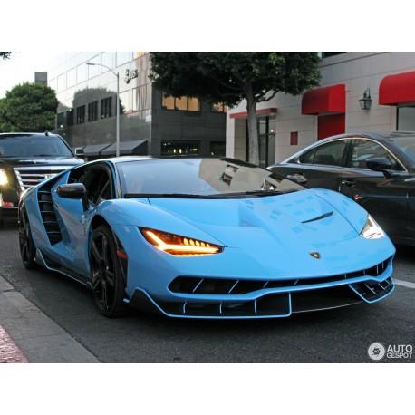 Lamborghini Centenario Coupe Blue Looksmart Ls1208se3 Miniatures