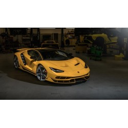 Lamborghini Centenario Coupe Yellow Looksmart LS1208SE2