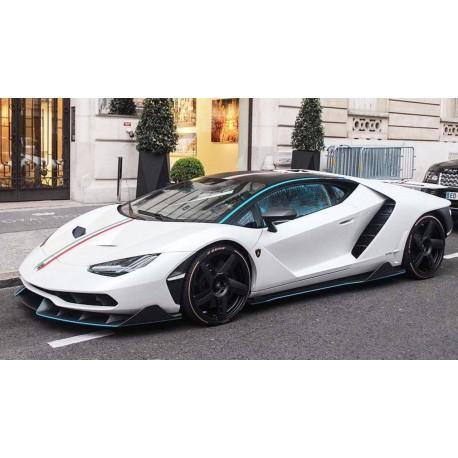 Lamborghini Centenario Coupe White Looksmart Ls1208se1 Miniatures