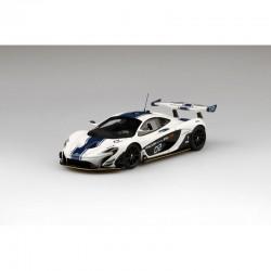 McLaren P1 GTR White Truescale TSM430253