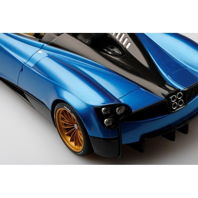 Pagani Huayra Roadster Blue Francia Top Speed Ts0170 Miniatures