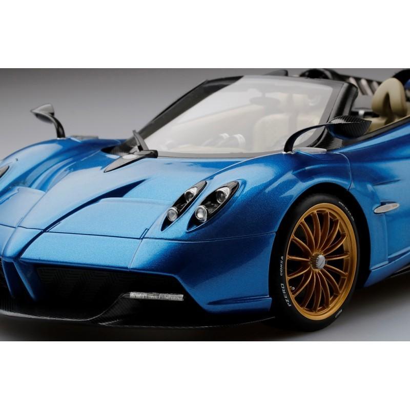 Pagani Huayra Roadster Blue Francia Top Speed TS0170