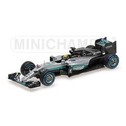 Mercedes F1 W07 Hybrid Grand Prix du Brésil 2016 Lewis Hamilton Minichamps 410160644