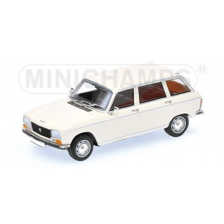 Peugeot 304 break 1972 Blanche Minichamps 400112711