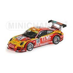 Porsche 911 GT3 R 18 24 Heures de Spa 2011 Minichamps 400118918