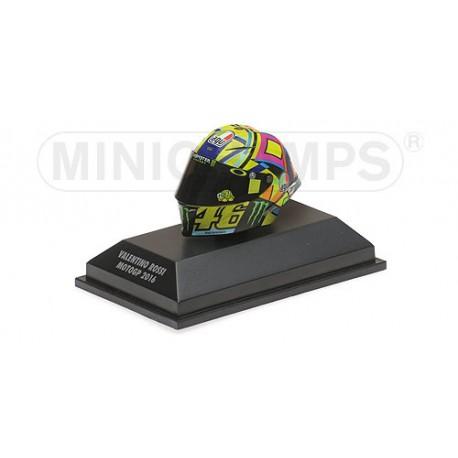 Casque 1/8 AGV Valentino Rossi Moto GP 2016 Minichamps 398160046