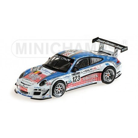 Porsche 911 GT3 R 123 24 Heures de Spa 2011 Minichamps 400118923