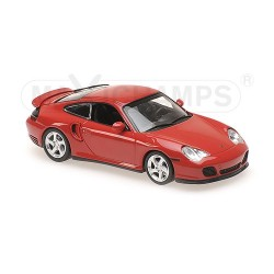 Porsche 911 Turbo (996) Red 1999 Minichamps 940069300