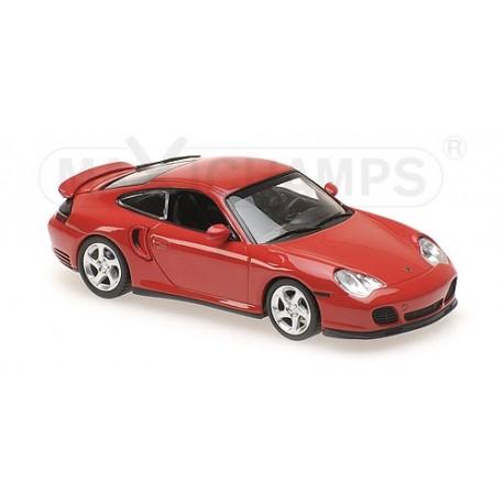 Porsche 911 Turbo (996) Red 1999 Minichamps 940069300