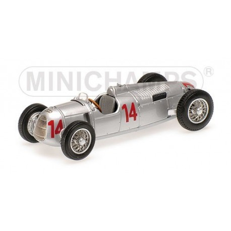Auto Union Typ C Hongrie 1936 Achille Varzi Minichamps 400360014