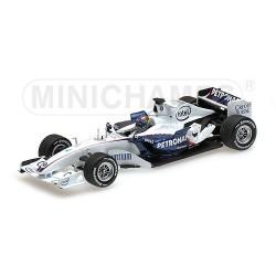 Sauber BMW C24B F1 Test Valencia 2006 Alessandro Zanardi Minichamps 400060904