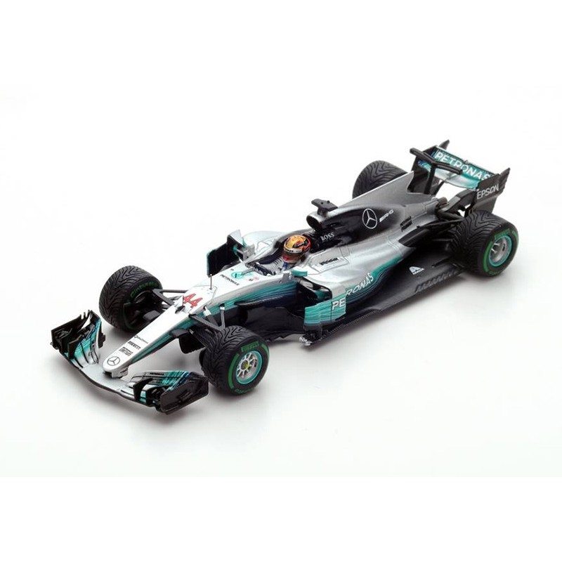 mercedes amg petronas w08 eq power f1 chine 2017 lewis hamilton spark s5030 miniatures minichamps. Black Bedroom Furniture Sets. Home Design Ideas