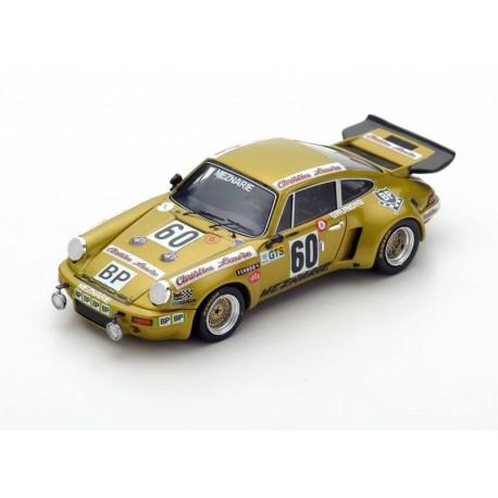 Porsche 911 Carrera RSR 60 24 Heures du Mans 1974 Spark S3495