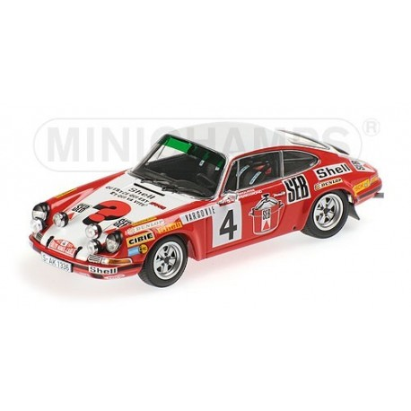 Porsche 911 S 4 Rallye Monte Carlo 1972 Larrousse Perramond Minichamps 400726804