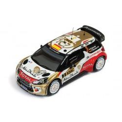 Citroen DS3 3 WRC Allemagne 2013 Sordo Del Barrio IXO RAM538