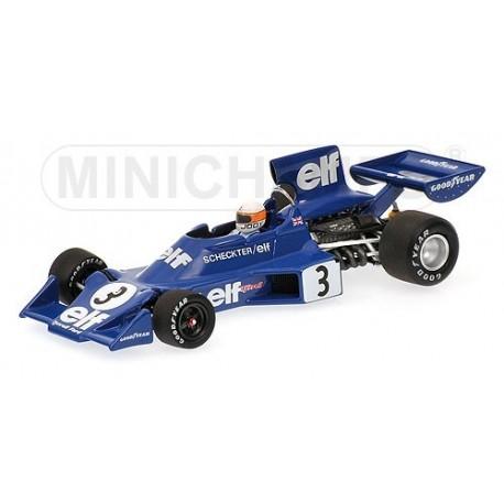 Tyrrell Ford 007/1 1974 Jody Scheckter Minichamps 400740003