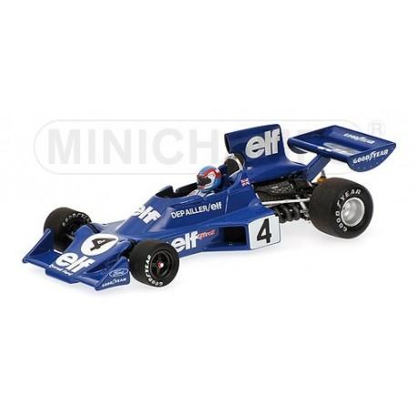 Tyrrell Ford 007/2 1974 Patrick Depailler Minichamps 400740004