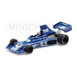 Tyrrell Ford 007 F1 1975 Patrick Depailler Minichamps 400750004