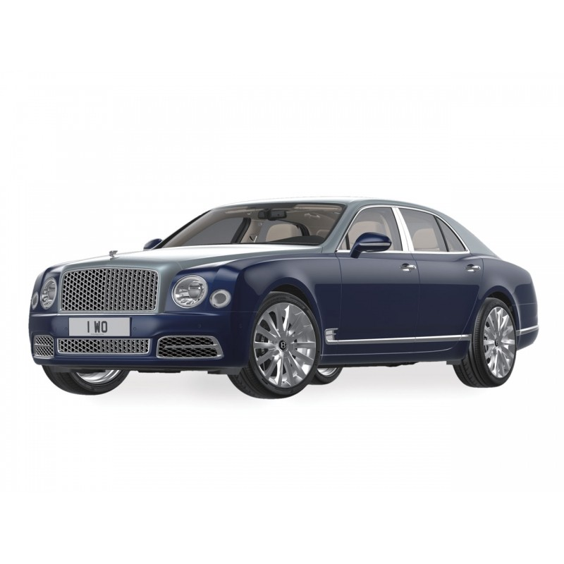 Bentley Mulsanne Silver Frost Over Marrocan Blue 2017