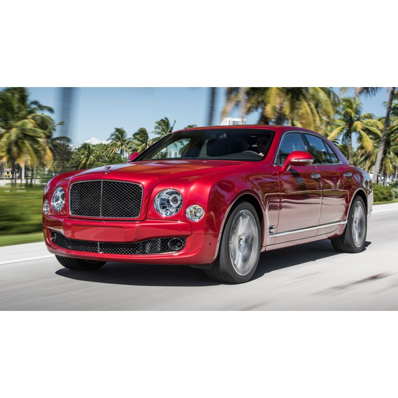 Bentley Mulsanne Speed Magenta 2017 Almost Real ALM830106