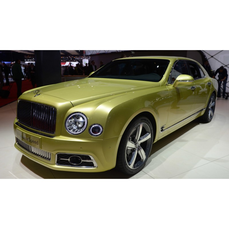 Bentley Mulsanne Speed Apple Green 2017 Almost Real